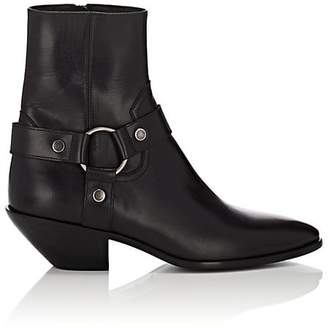 Saint Laurent Women's Western Leather Ankle Boots