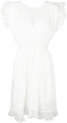 Isabel Marant ruffle detail dress