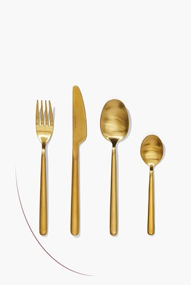 Country Road Nolan Gold 16 Piece Cutlery Set
