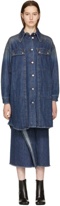 Blue 80s Wash Denim Jacket