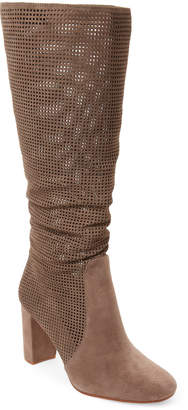 Vince Camuto Foxy Secillia Tall Perforated Suede Boots