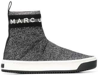Marc Jacobs Dart logo sock sneakers