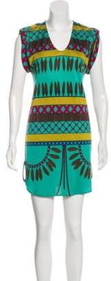 Mara Hoffman Tribal Print Silk Tunic
