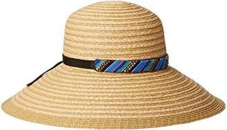 Gottex Women's Marrakesh Raffia Packable Sun Hat Rated $96 thestylecure.com