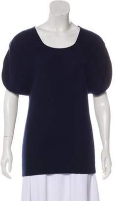 TSE Knit Long Sleeve Sweater Navy Knit Long Sleeve Sweater