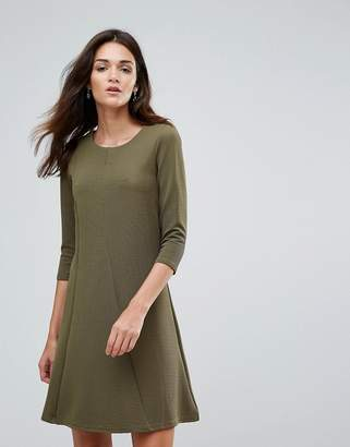 Vila 3/4 Sleeve Skater Dress