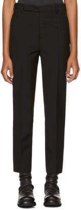 Rick Owens Black Austin Trousers
