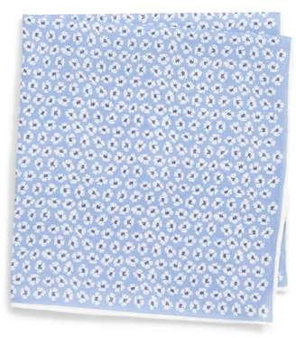 Southern Tide Whitefield Floral Cotton & Silk Pocket Square