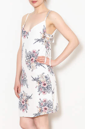 Bishop + Young Tie Side Floral Dress