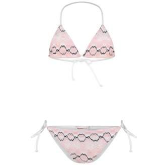 Missoni MissoniGirls Pink & Black Bikini