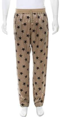 Faith Connexion Silk Star Print Pants