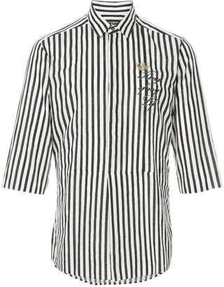Dolce & Gabbana striped short-sleeve shirt