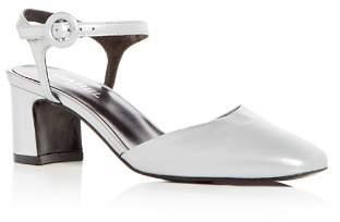 Carel Women's Leather Block Heel Pumps