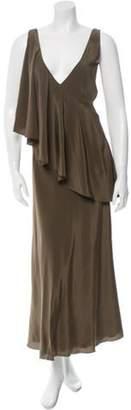 Jason Wu Silk Dress w/ Tags Olive Silk Dress w/ Tags