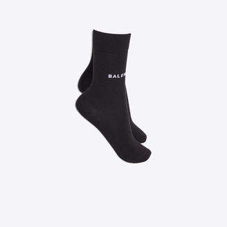 Balenciaga Sponge socks with logo at front