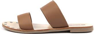 Sol Sana Tali slide Pink metallic Sandals Womens Shoes Casual Sandals-flat Sandals