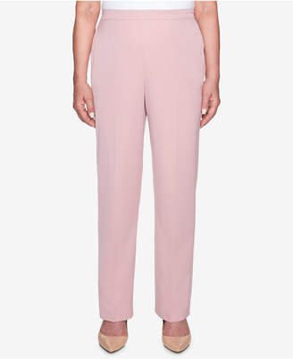 Alfred Dunner Home For The Holidays Twill Pull-On Pants