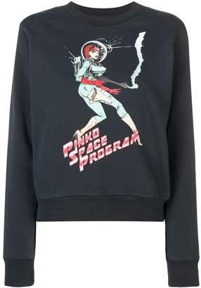 Pinko black Space Program sweater