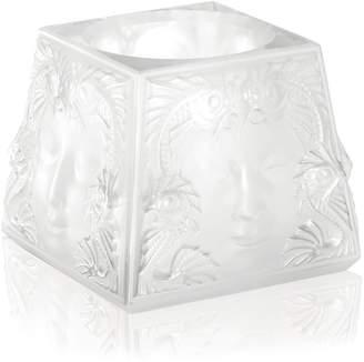 Lalique Masque De Femme Votive Candle Holder