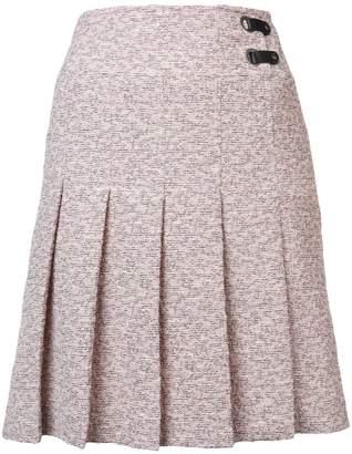 Akris Punto pleated mini skirt
