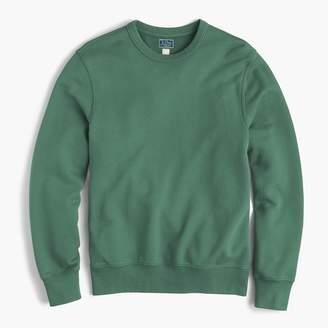 J.Crew Tall garment-dyed french terry crewneck sweatshirt