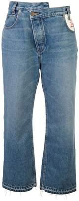 Monse high waisted wide leg jeans