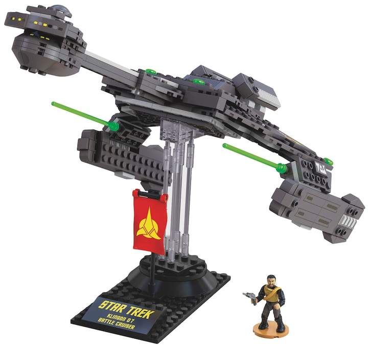 Mega bloks Star Trek Klingon D-7 Cruiser Collector Construction Set by Mega Bloks