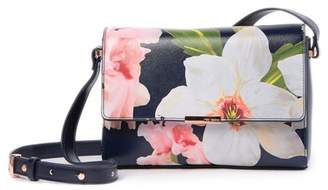 Ted Baker Prim Chatsworth Bloom Leather Crossbody Bag