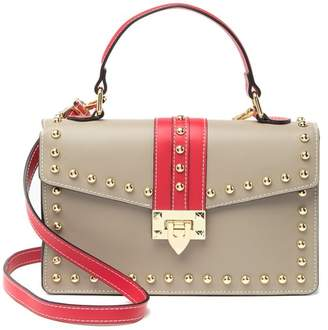 Persaman New York Karla Leather Mini Satchel