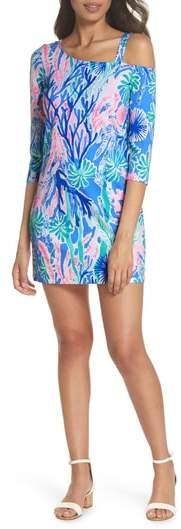 R) One-Shoulder Minidress