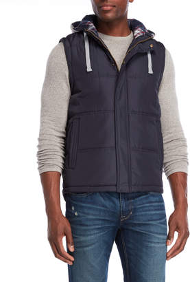 Weatherproof Hooded Puffer Vest
