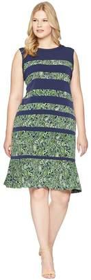 MICHAEL Michael Kors Size Paisley Paneled Sleeveless Dress Women's Dress