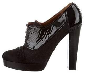 Lanvin Platform Ankle Boots