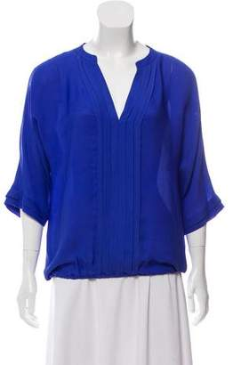 Joie Silk Long Sleeve Blouse
