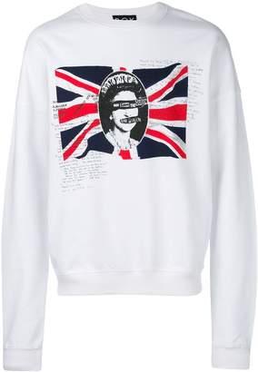 Boy London print long-sleeve sweatshirt