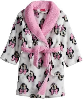 Disney Disney's Minnie Mouse Toddler Girl Robe