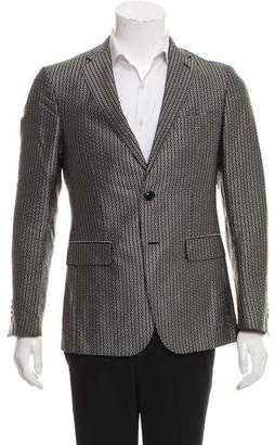 Etro Silk Jacquard Blazer