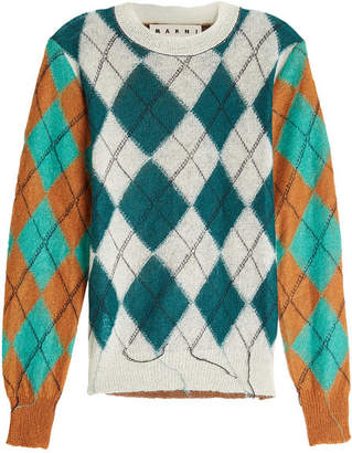 Marni Pullover with Mohair and Wool