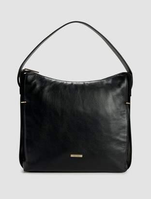 Calvin Klein pebble leather hobo bag