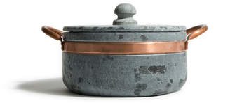 Cookstone Soapstone & Copper Covered Pot