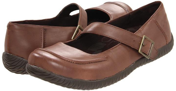 Orthaheel Elisa Casual Flat (Chocolate) - Footwear