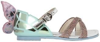 Sophia Webster Chiara Mini Metallic Leather Sandals