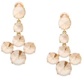 Oscar de la Renta Rivoli stone earrings