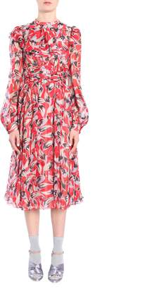 N°21 N.21 Silk Chiffon Dress
