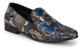 Steve Madden Decoy Floral Smoking Slippers