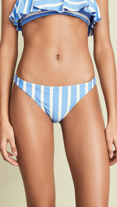 Milly Stripe St. Lucia Bikini Bottoms