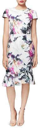 Betsey Johnson Floral Scuba Dress