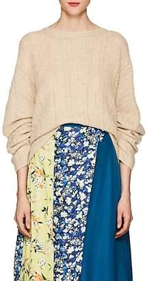 Acne Studios Women's Theda Oversized Sweater - Oatmeal Beige Melange
