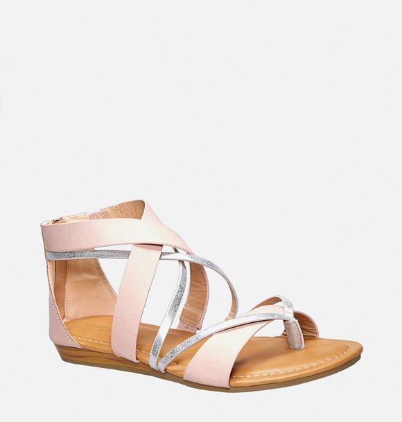 Talia Criss Cross Gladiator Sandal