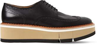 Clergerie Coel Brogue Leather Lace-Up Shoes